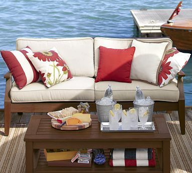 This Will Be On Our Dock Chesapeake Sofa Amp Cushion