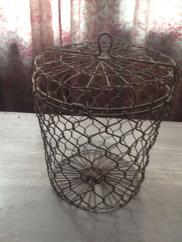 Midwest CBK Galvanized Metal Hanging Pocket Basket 12