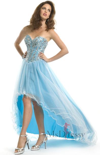 High Low Cinderella Dress