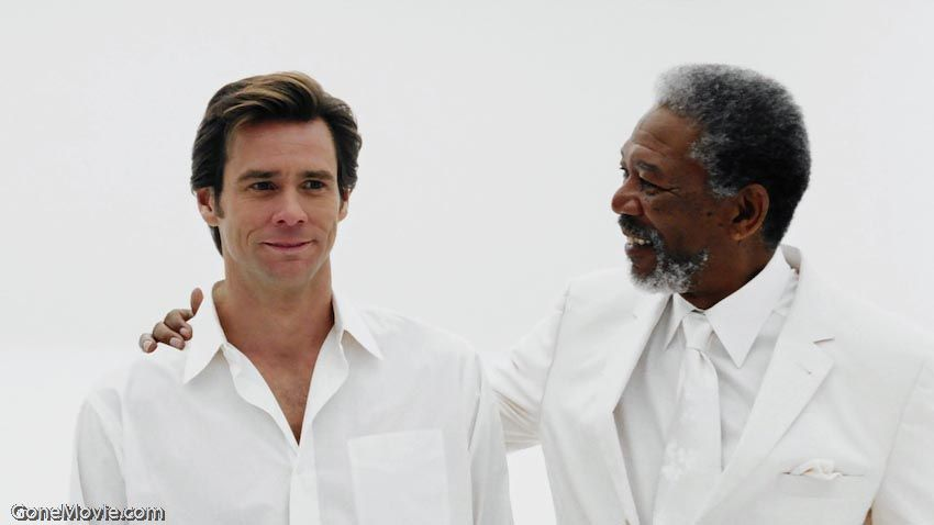 Bruce Almighty Morgan Freeman Bruce Jim Carrey