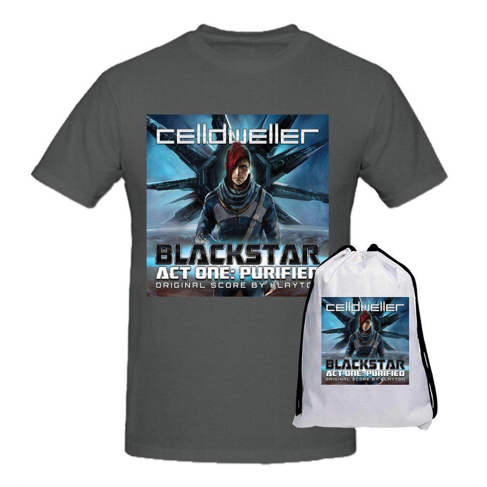 Celldweller Blackstar Act One Purified Men Printed T Shirts O Neck Grey -- Awesome products selected by Anna Churchill