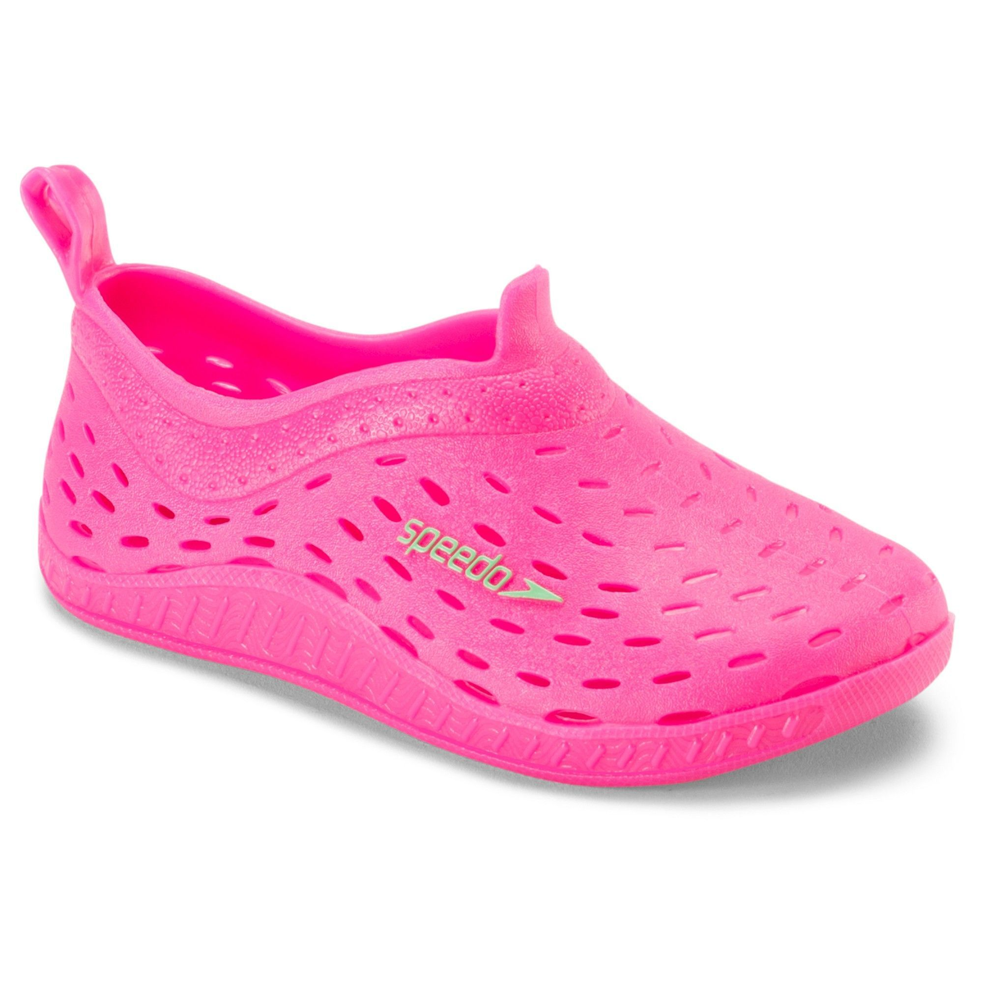 57684d67f860 Speedo Toddler Kids Jellies Water Shoes - Pink (Extra Large ...