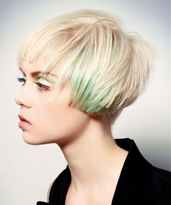 Douglas Carroll Salon Short Blonde Hairstyles