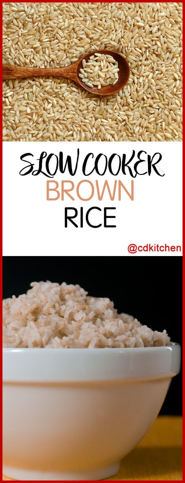 Crock Pot Brown Rice Recipe | CDKitchen.com