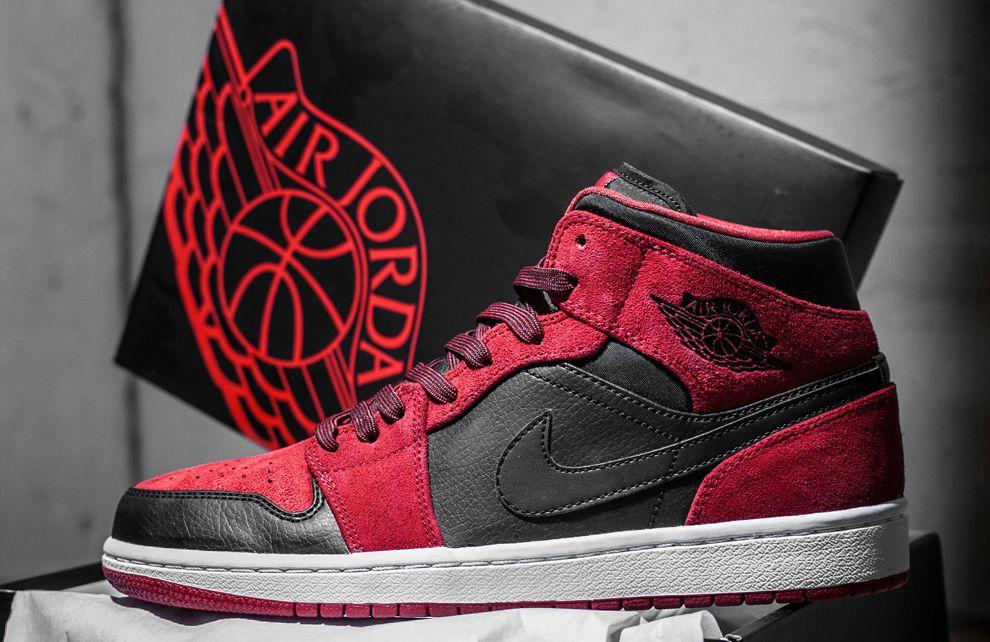 Nike Air Jordan 1 Mi Classique Rouge