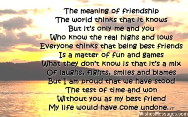 Pin On Friendship Quotes Messages And Poems