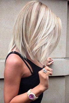 37 Mittellange Frisuren und Frisuren für 2019 Wenn Sie auf dem Markt nach …