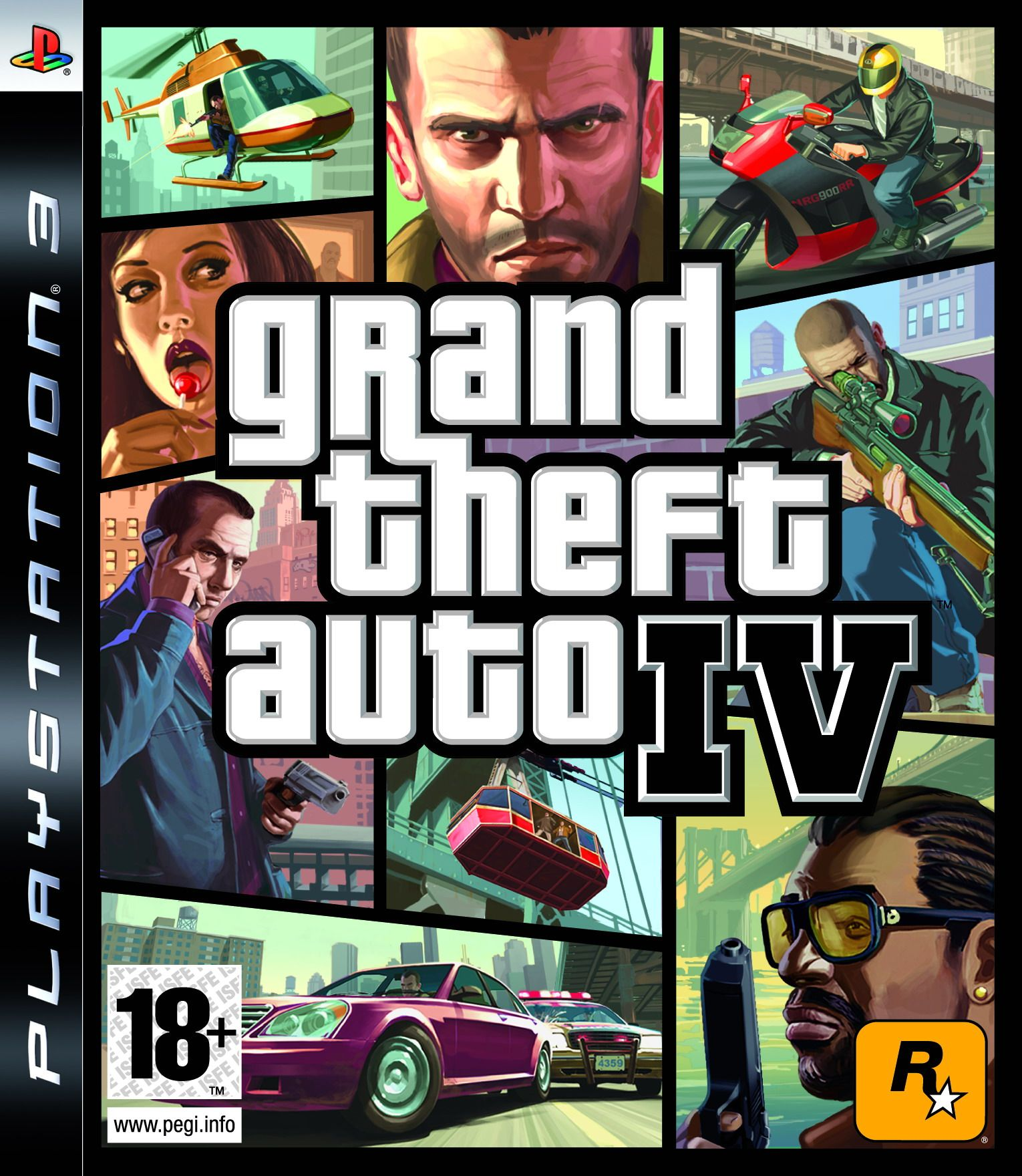 Grand Theft Auto Iv Ps3 Juegos De Ps3 Grand Theft Auto Videojuegos Wallpaper