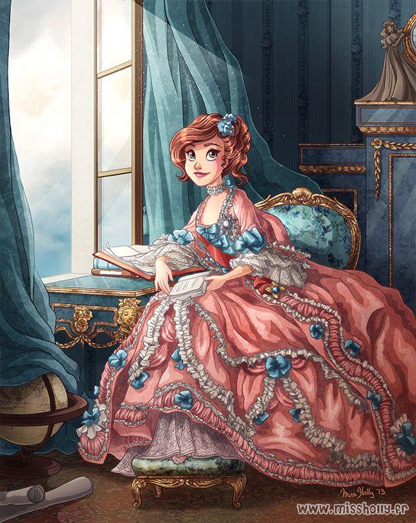 Tseumpfeuh en libert belle disney disney prinzessin - Peinture princesse disney ...