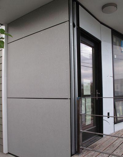 Hardi Panel Open Joint Rainscreen System Garage Style