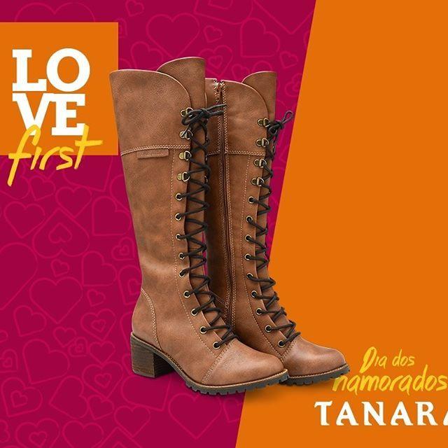 Ainda dá tempo de pedir Tanara Brasil no Dia dos Namorados. Marque o love aqui e dê a dica! ;) www.tanarabrasil.com.br #lovefirst #shoesfirst Ref. T0364