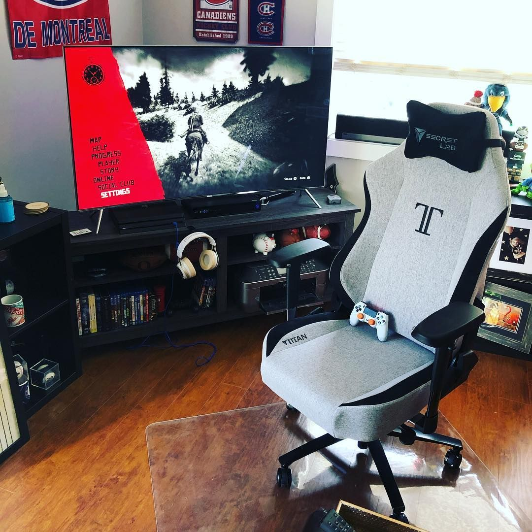 The SecretLab Titan is one of the best gaming chairs in