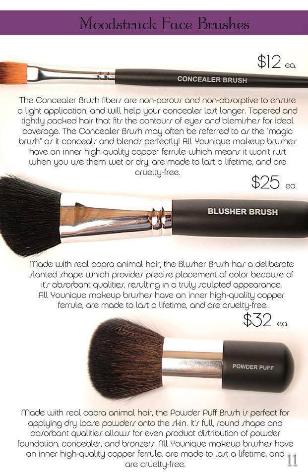 Pin by Younique By Lisa on Makeup Brushes by Younique