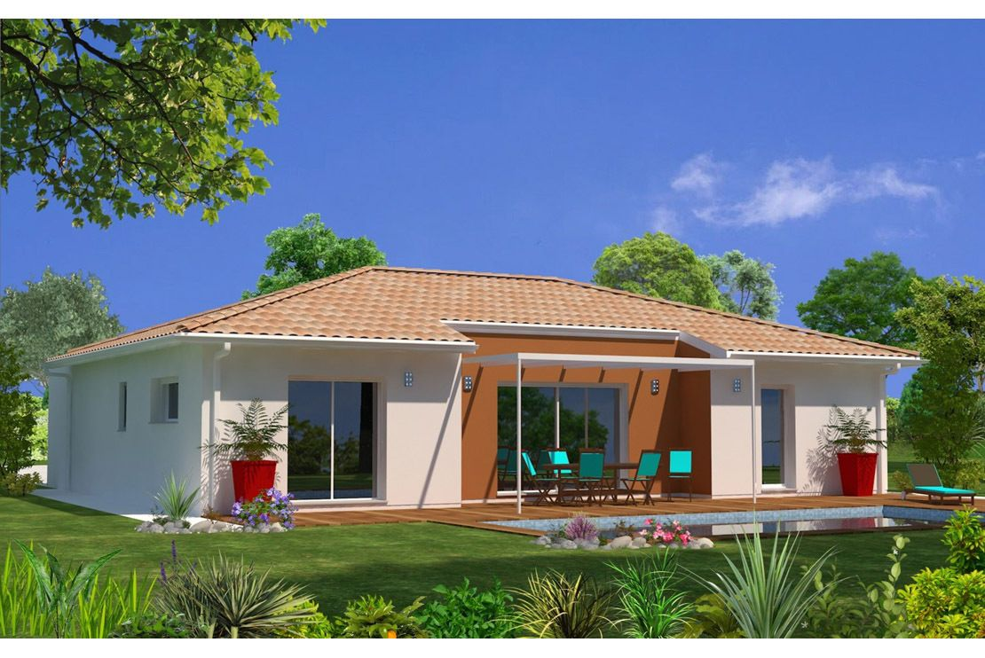 Modèle de maison maeva proposé par maisons lara retrouvez tous les types de maison à