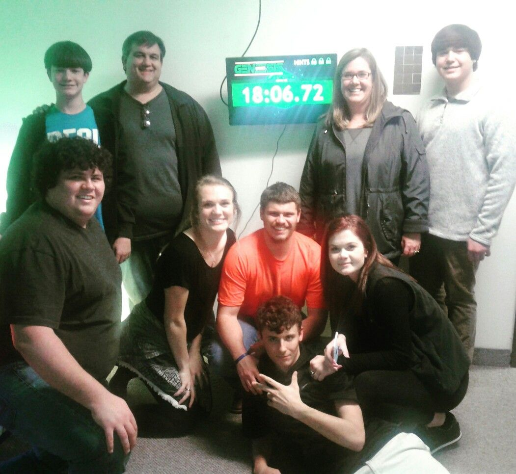 Awesome work Spy crew! You beat the room with plenty of time left and beat the other team!