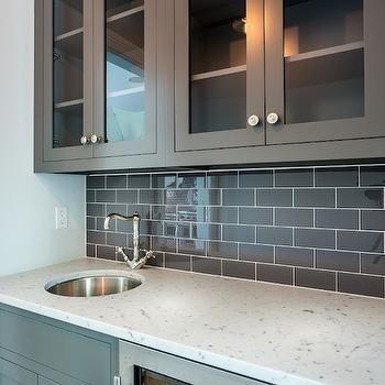 Dark Gray Subway Tiles, Transitional, Kitchen, Sir Development