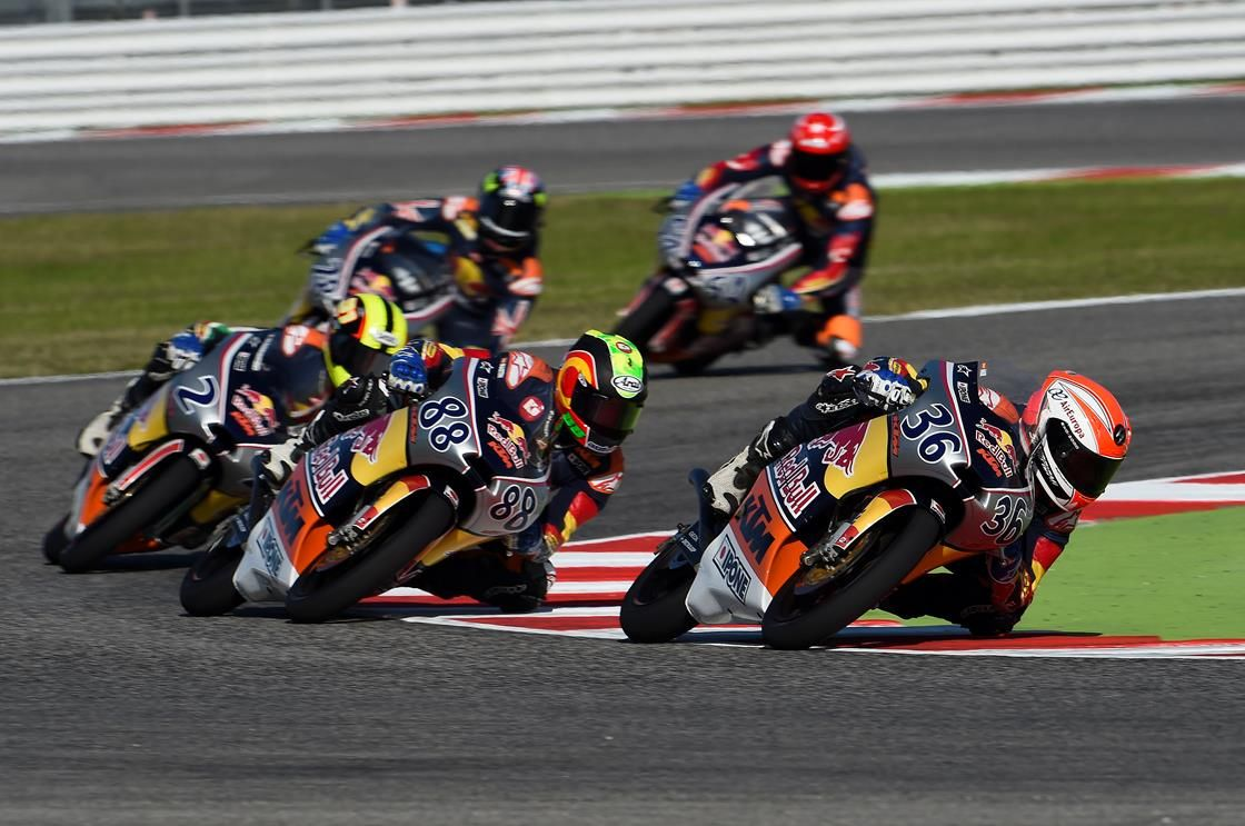 End of season celebration races in Aragon for Red Bull MotoGP