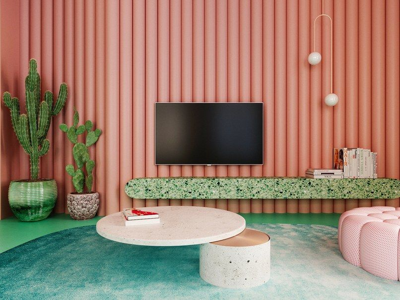 There Are Zero White Surfaces in This Incredible Apartment images