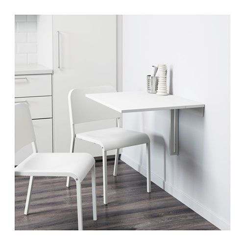 Wandklapptisch design  NORBERG Wandklapptisch, weiß | Drop leaf table, Leaf table and ...