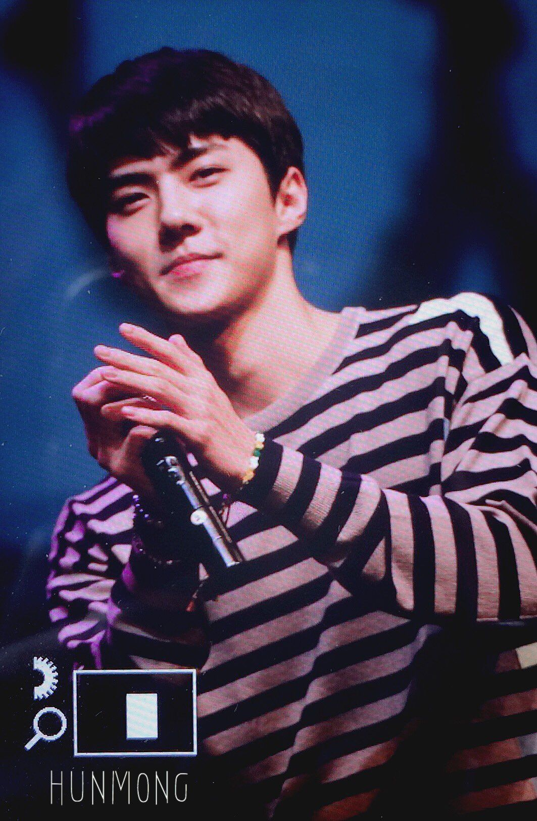 Sehun - 160703 EXO Fansign Event Credit: Hunmong