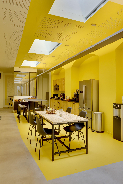 Lespace Caftria En Entreprise La Nouvelle Salle De