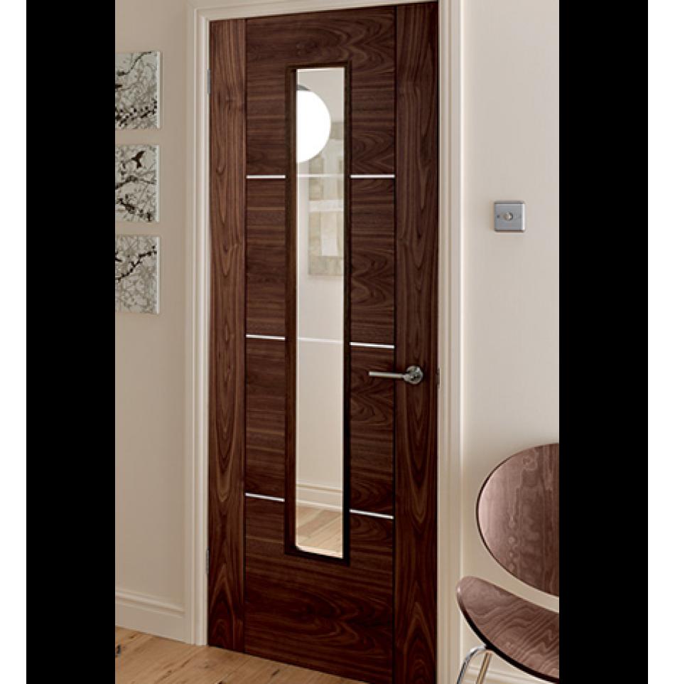 UK Branded Wide Range of Modern Walnut #Doors for #Home & Office ...