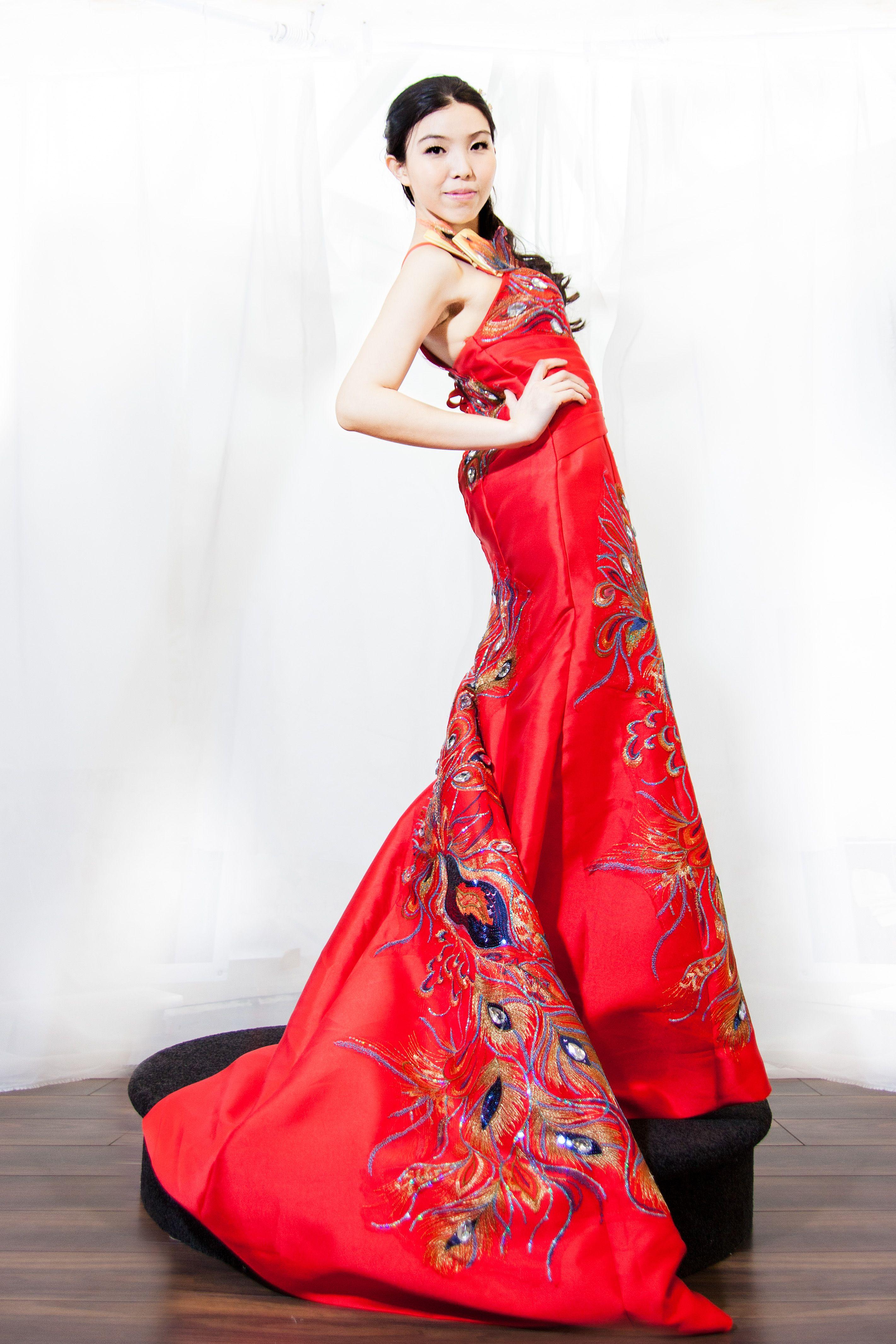 Modern Chinese Wedding Dress | CHINESE Wedding | Pinterest | Wedding ...