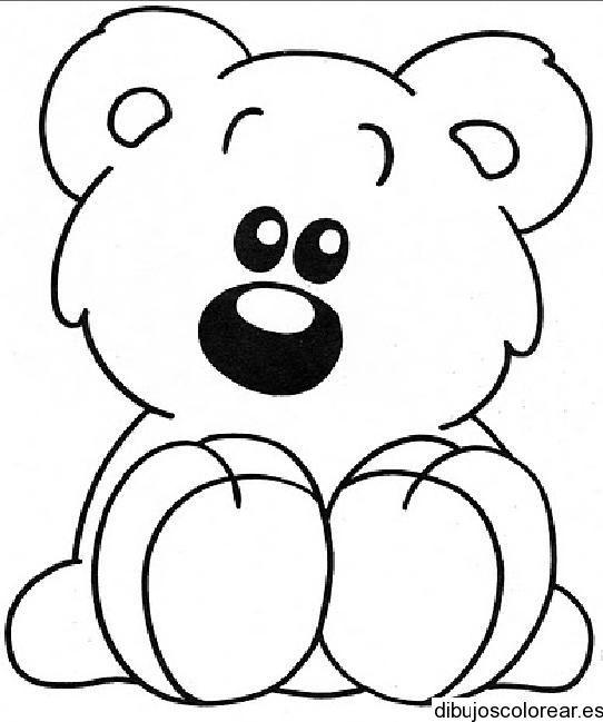 Osos Bebes Para Colorear Ositos De Peluche Para Colorear Imágenes Y