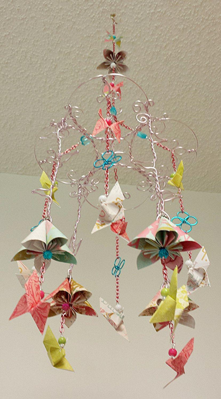 Sakura Flower Mobile Butterfly Mobile Flower Mobile Nursery