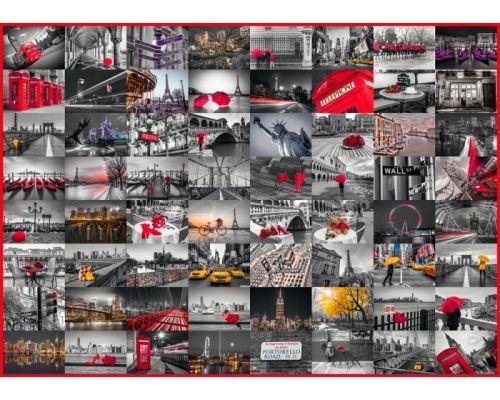 Puzzle Schmidt Collade Ciudades del Mundo de 1500 Piezas