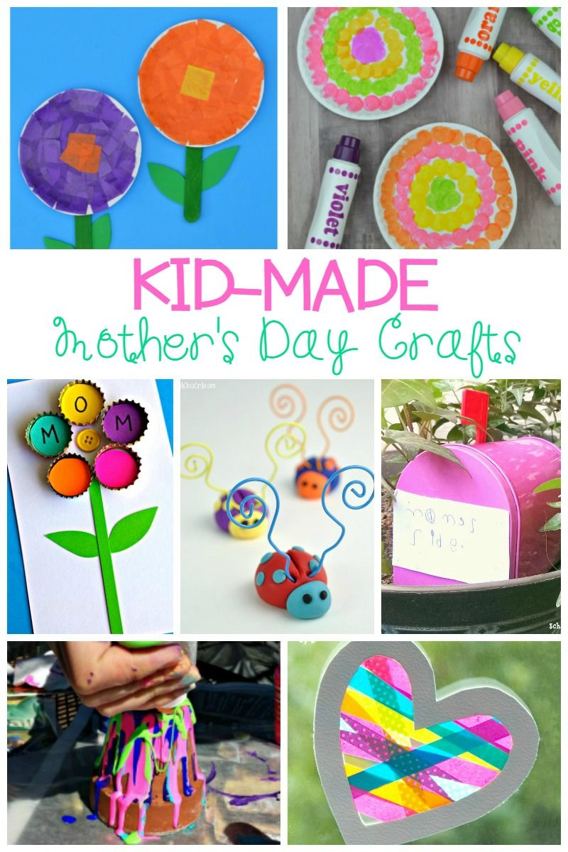 Kid Made Mother S Day Crafts Moms Will Love Mother S Day Crafts