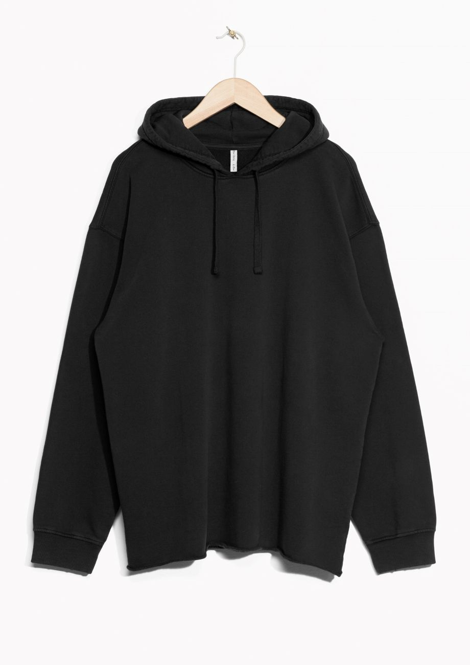 Other Stories Image 2 Of Oversized Hoodie In Black Hoodie Fashion Clothes Hoodies [ 1300 x 920 Pixel ]