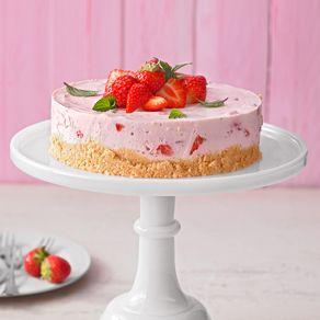 Erdbeer-Torte mit Joghurt