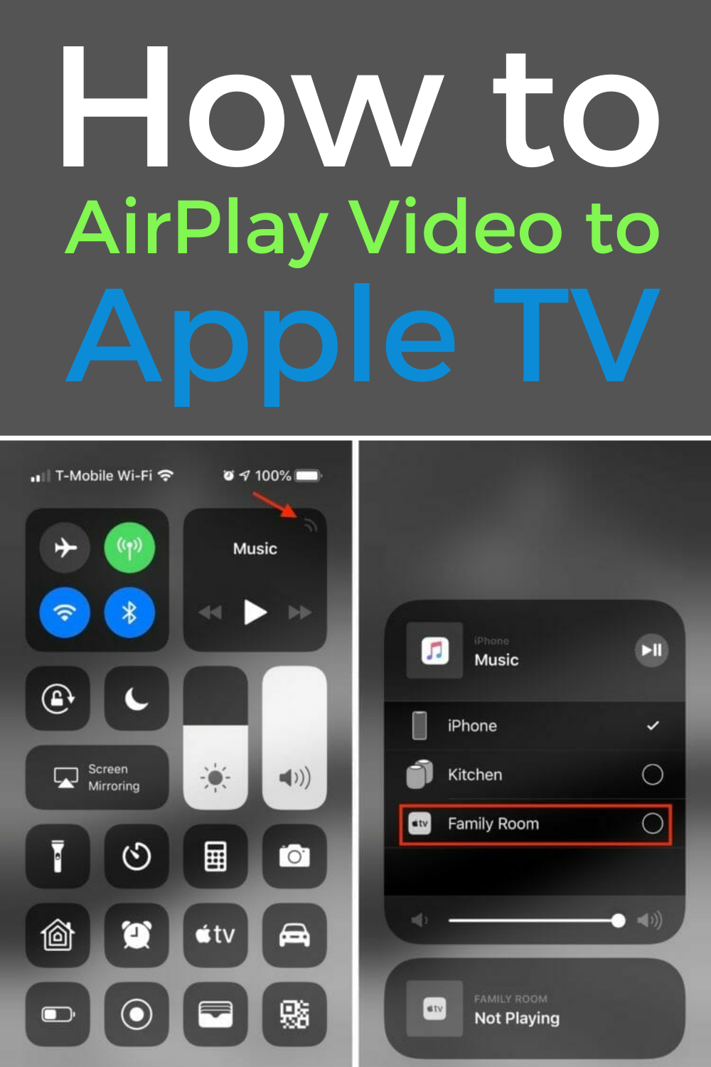 Airplay Mirroring Slow None Of The Fixes Work Screen Mirroring Iphone Screen Wireless Streaming