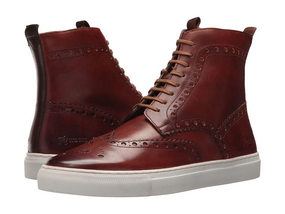 Grenson Calf High Top Sneaker Men's