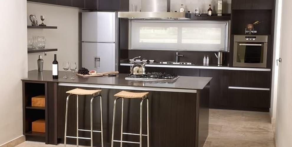Mueble de cocina a medida 990 500 for Muebles cocina melamina