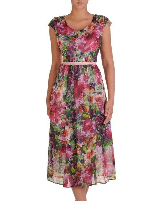 Sukienka Damska 17141 Dluga Kreacja W Kwiaty Sklep Online Modbis Pl Summer Dresses Fashion Dresses