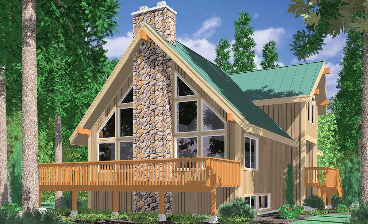 3683 Housplans Pro Beach Cottage House Plans Vacation House Plans Log Home Floor Plans