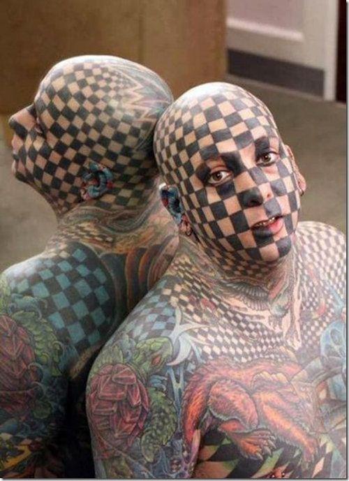 Job Stopper Tattoos Inked Magazine Weird Tattoos Bad Tattoos Facial Tattoos