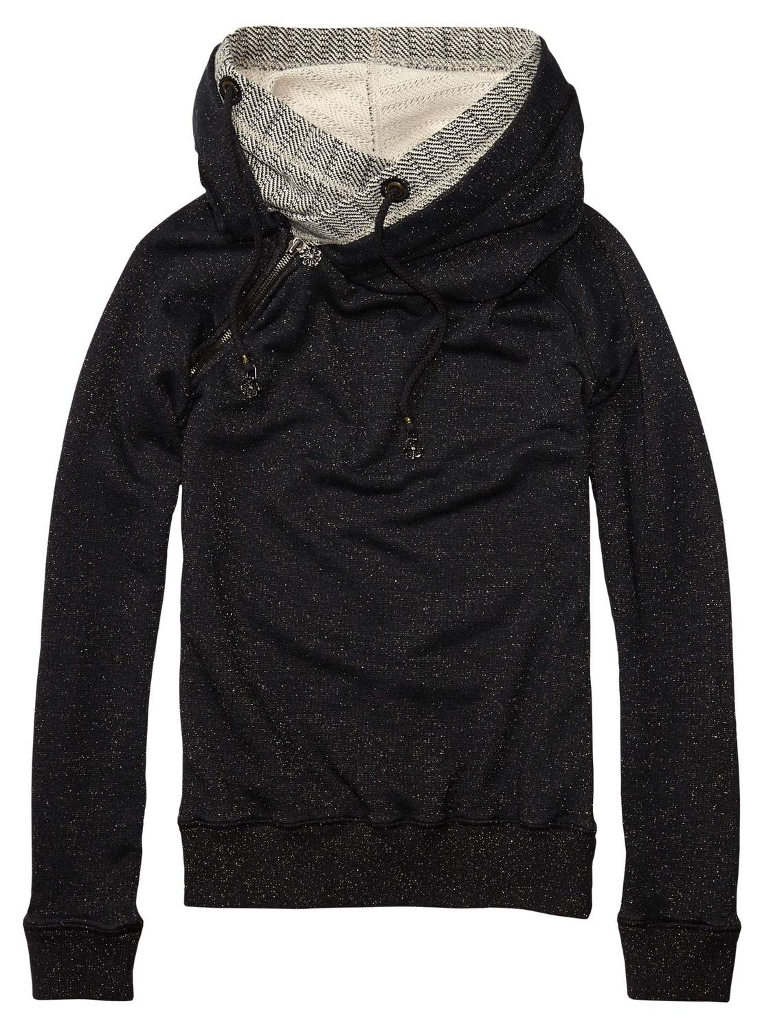 Home Alone Sweater With Double Layer Hoodie ( Scotch & Soda ...