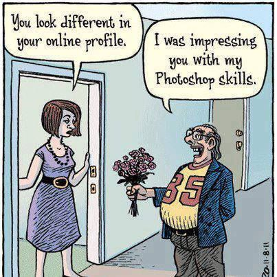 Funny online dating profil vitser