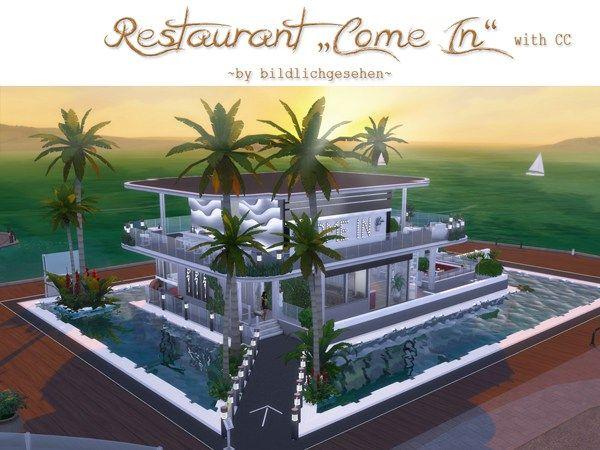 Akisima Sims Blog Restaurant Come In Sims 4 Restaurant Sims
