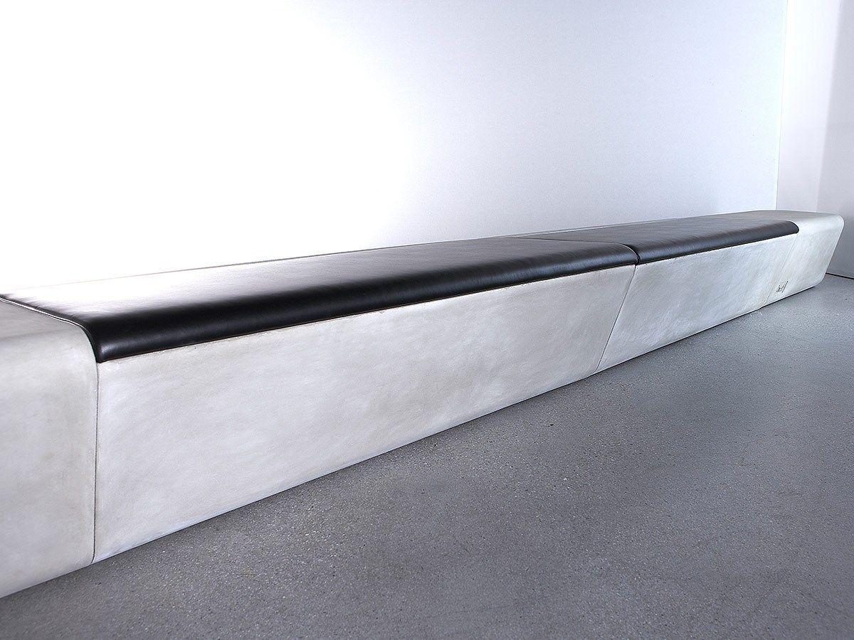 Concrete Rudolph modular grc bench arpa by concrete design design realgrün