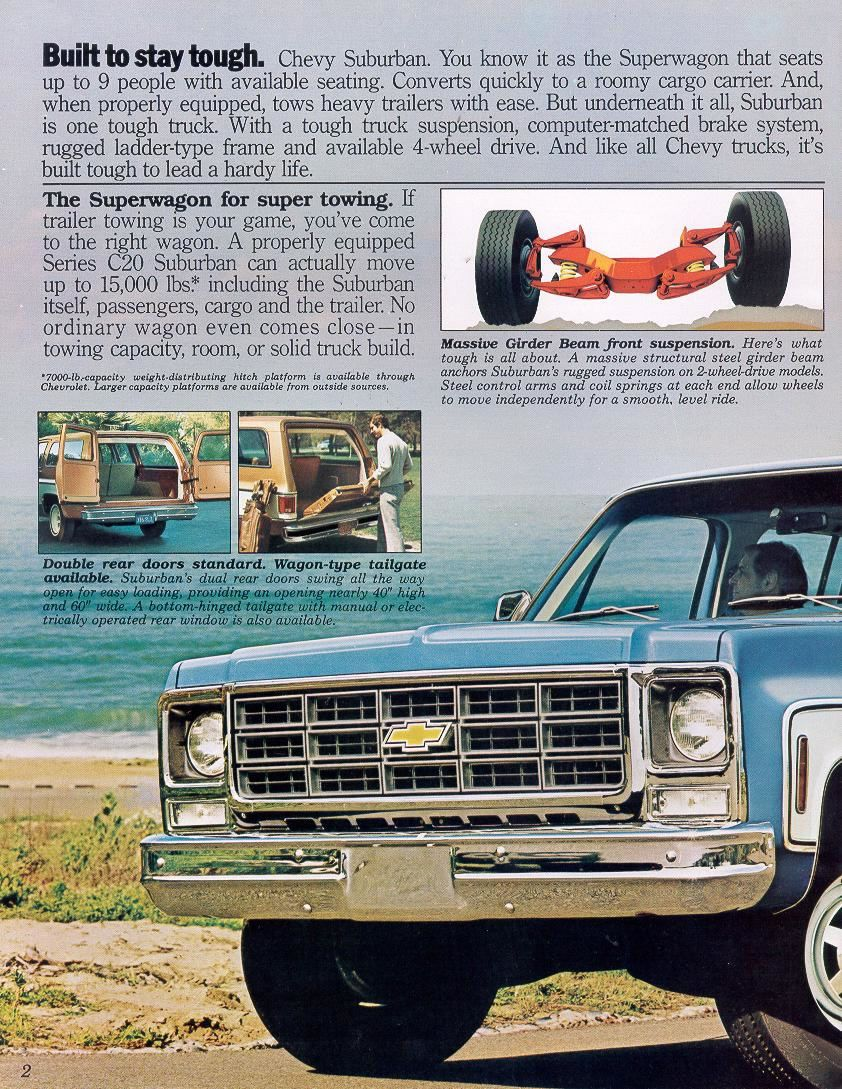 1983 K10 Chevy Suburban Manual - User Guide Manual That Easy-to-read •