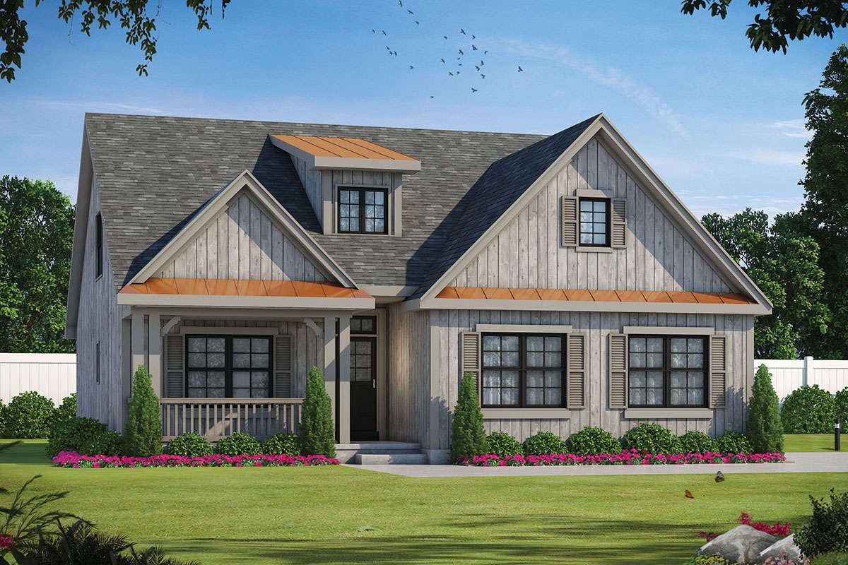 House Plan 402 01618 Country Plan 2 114 Square Feet 4 Bedrooms 3 5 Bathrooms Country Style House Plans Craftsman House Craftsman House Plan