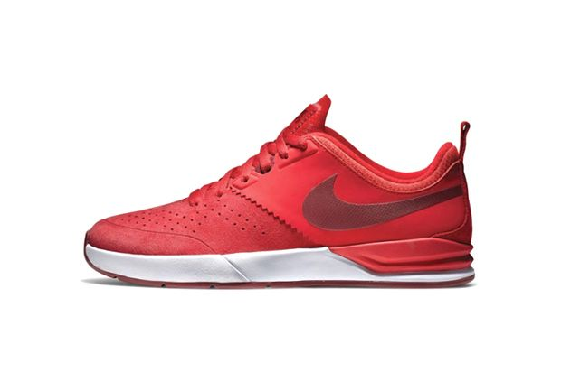 hot sale online ad30f c60a2 Nike SB Project BA Red White. ~I m liking the more sports trainer look on a  skate silhouette~