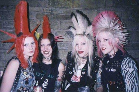 The Devotchkas were a four-piece American street punk band