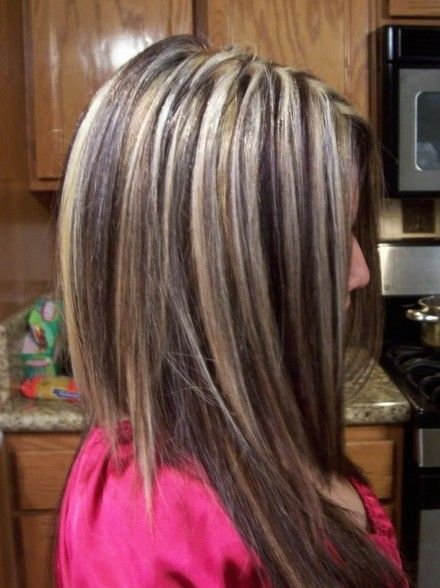 Blonde highlights hairstyles 2014 for thick hair tagged with brown hair with chunky multi highlights basically stunning new hair flattering caramel highlights on dark brown hairhighlights ideas for brunette hair pmusecretfo Images
