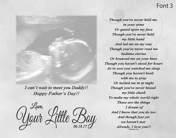 Father S Day Gift For Expecting Dad From Unborn Baby