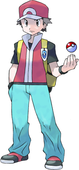 File:FireRed LeafGreen Red.png | Pokemon trainer red ...